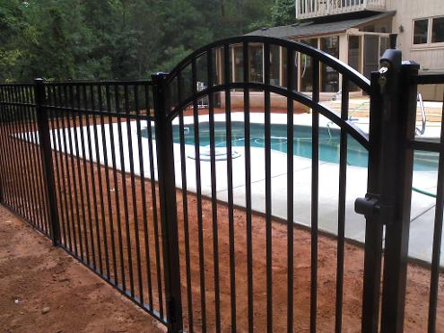 Pool fence, Braselton, GA