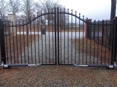 Automated gate, Braselton, GA