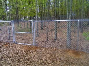 Chain Link Fence - Grayson Alcovy Fence