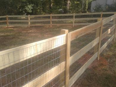 Wood Privacy Fence - Loganville, GA