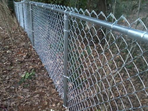 Grayson, GA Galvanized Chain Link Fence